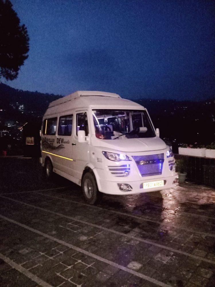 tempo traveller in north east delhi